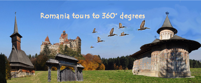 Romania tours to 360 degrees